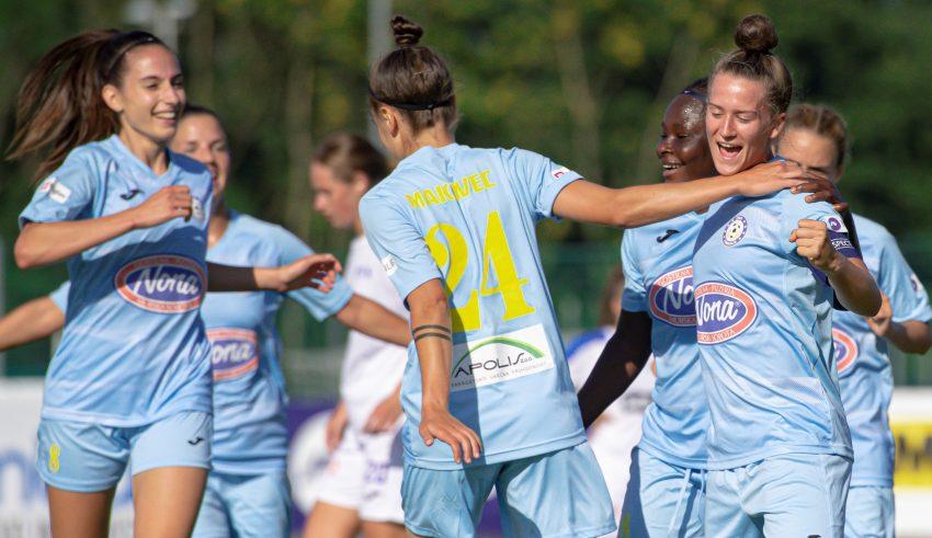 ŽNK Nona Pomurje, Liga Prvakinj